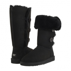 Buy Best Women's Shoes UGG8@@Australia_1873  Bailey Button Triplet Boots Black 9