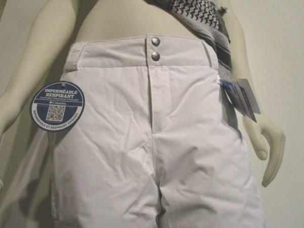 Buy Best Womens XS-S-M-L Columbia Arctic Trip Insulated Waterproof Snow Ski Pants White