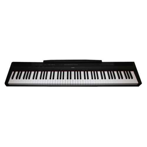 buy cheap yamaha p 115 p115b 88 key weighted action digital piano. Black Bedroom Furniture Sets. Home Design Ideas