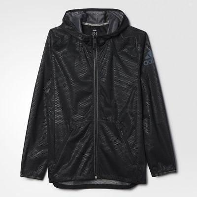 Buy Best adidas AO3222 Men's CLIMASTORM Full Zip Jacket Athletic Running Lightweight Coat