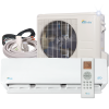 12000 BTU Mini Split Air Conditioner with Heat Pump Remote and Installation Kit