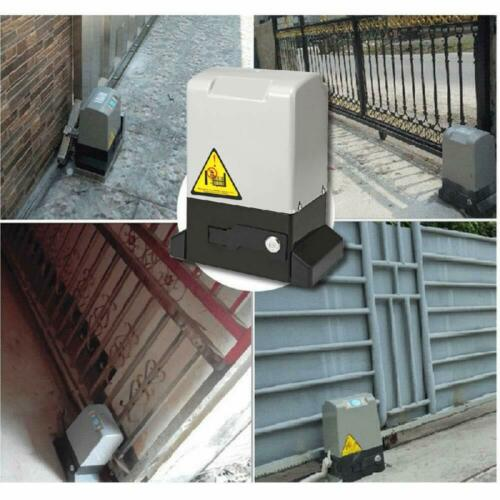 3500 lbs Electric Sliding Gate Opener Automatic Driveway Operator Remote 110V
