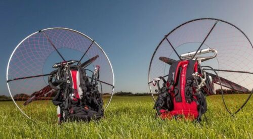 "Adventure Pluma With ""NEW MY-19"" Dual Start Moster 185 Carbon Powered Paraglider"