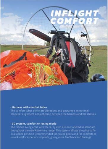 Adventure Primus Paramotor With Moster 185 Dual Start MY-19