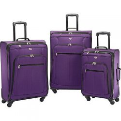 Buy Best American Tourister Pop Plus 3pc Spinner Set 4 Colors Luggage Set NEW