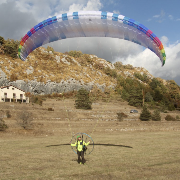 BGD Echo Lightweight Motor Glider for Paramotoring, Powered Paraglider, PPG.