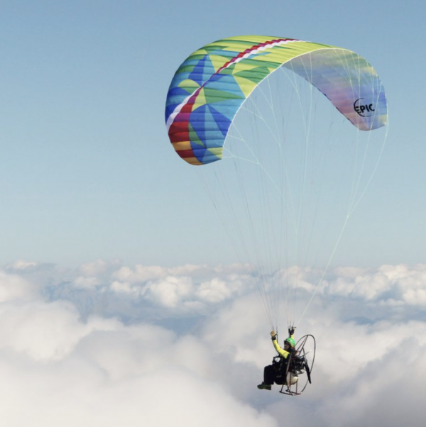 BGD Epic Motor Power Glider for Paramotoring, Powered Paraglider, PPG.