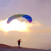 BGD Seed Kiting Glider for developing skill in Paramotoring, Powered Paragliding