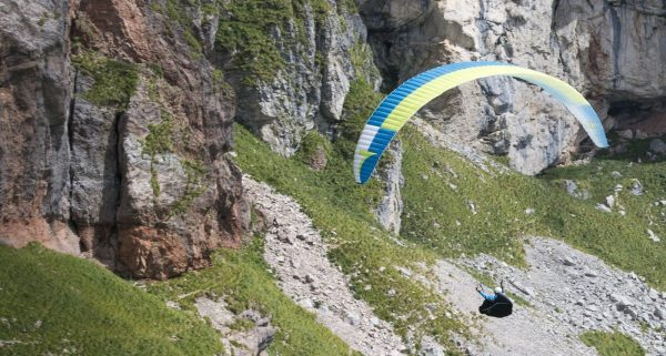 Brand new paraglider Triple Seven gliders  KING, size S,color green EN-D glider