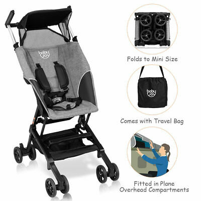 Buggy Portable Pocket Compact Lightweight Stroller Easy Handling Folding Travel