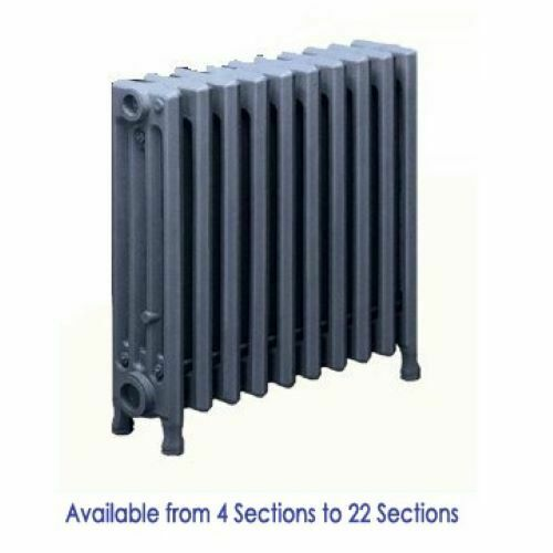"""Cast iron Radiators for Steam and Hot Water Systems 4 Tubes 19""""H x 4 1/2""""W"""