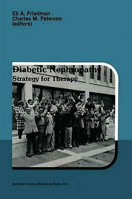 Diabetic Nephropathy: Strategy for Therapy (English) Paperback Book Free Shippin