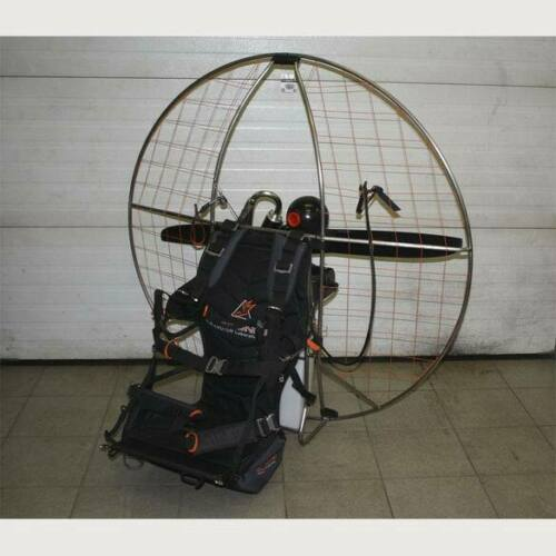 EOS 100 on full titanium frame light paramotor setup 17kG-38Lb