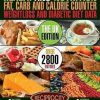 Health & Nutrition Fat, Carb & Calorie Counter, Weight Loss & Diabetic Diet D...