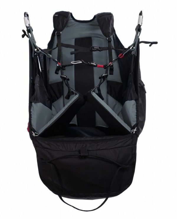 Hike & Fly Ozone SOLOS Paragliding Harness - A Light & Sleek Reversible Harness