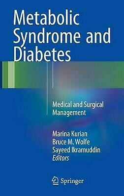 Metabolic Syndrome and Diabetes: Medical and Surgical Management (English) Hardc