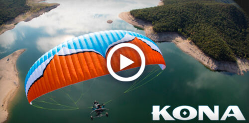 NEW! Ozone Kona Power Glider for Paramotoring, PPG, Powered Paraglider