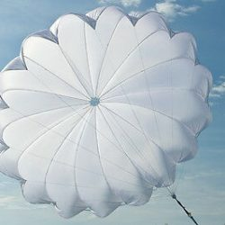 Buy Best NEW reserve emergency parachute rescue SC-34Lt Hang Gliding Paragliding