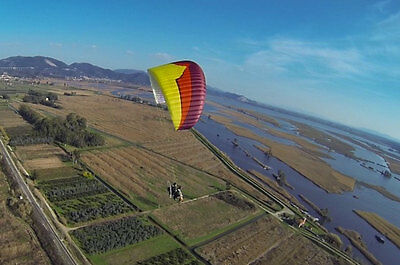 Ozone MagMax 38 Tandem Power Glider for Paramotoring, PPG, Powered Paraglider