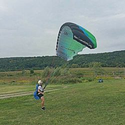 Ozone Paraglider Kiting The Groundhog Perfect for Ground Handling