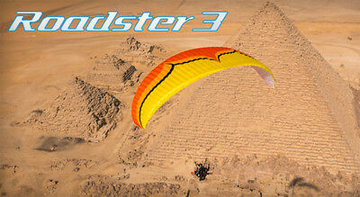 Ozone Roadster 3 Power Glider for Paramotoring, PPG, Powered Paraglider