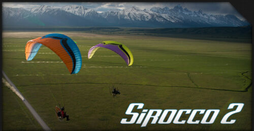 Ozone Sirocco 2 Reflex Power Glider for Paramotoring, PPG, Powered Paraglider