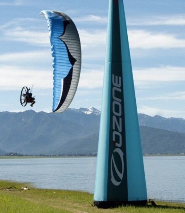 Ozone Viper 4 Power Glider for Paramotoring, PPG, Powered Paraglider