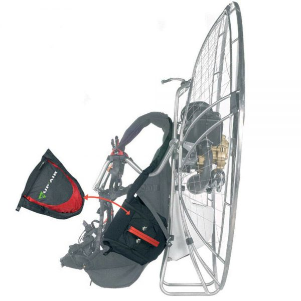 Paramotor-PPG harness Supair Evo  Size L comfortable long flights easy take Off