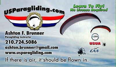 Powered Paraglider PPG Fly Products 130 tandem or single US Paragliding