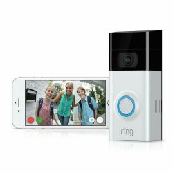 Ring Video Doorbell 2 HD, Motion Activated Alerts, Easy Install $0 TAX!!!