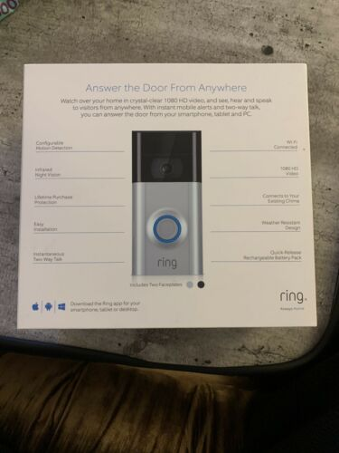 Ring Video Doorbell 2 - READ DESCRIPTION