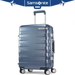 "Buy Best Samsonite Framelock Hardside Carry On Luggage with Spinner Wheels 20"" Ice Blue"