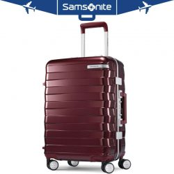 "Buy Best Samsonite Framelock Hardside Checked Luggage with Spinner Wheels 29"" Cordovan"