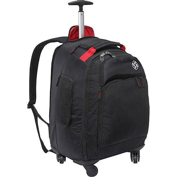 "Samsonite MVS Spinner Backpack - 20"" - Black"