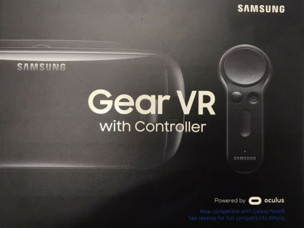 Samsung - Gear VR Virtual Reality Headset - Orchid Gray SM-R325NZVAXAR