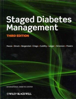 Staged Diabetes Management, Hardcover by Mazze, Roger S.; Strock, Ellie S.; B...