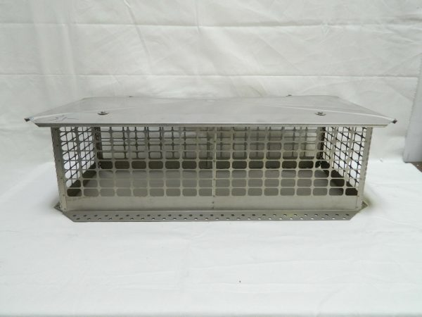 Stainless Steel Crown Mount Chimney Cap w/Multiple Sizes *Brand New*