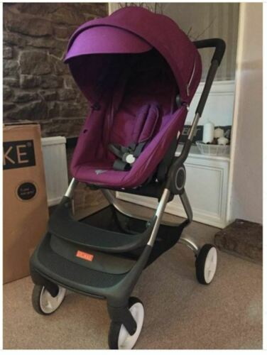 Buy Best Stokke Scoot Stroller, Purple New in Box/Unopened Free Shipping!