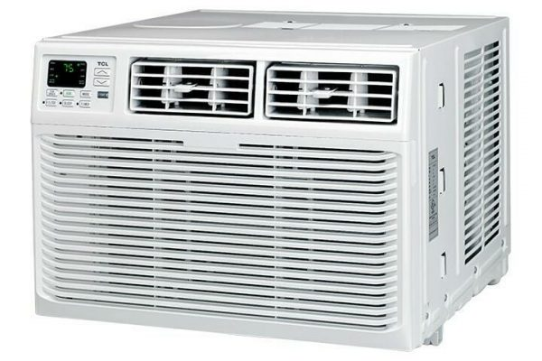 TCL 10000 BTU 3-Speed Window Air Conditioner with Remote Control - White