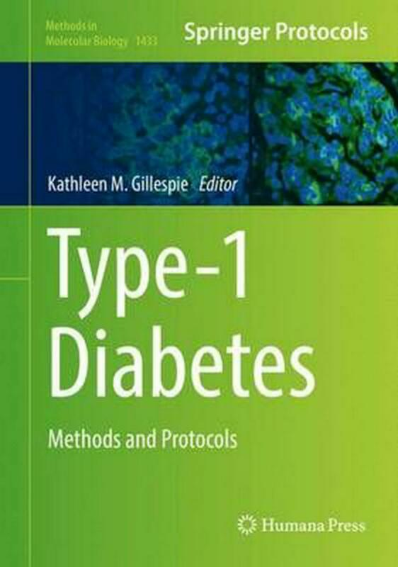 Type-1 Diabetes: Methods and Protocols (English) Hardcover Book Free Shipping!