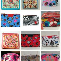 Wholesale Lot of 100 x Cosmetic Makeup Bags
