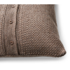 "Buy Best $185 Ralph Lauren Modern Icons Tylar Lambwool 18"" Decorative Pillow Taupe Brown"