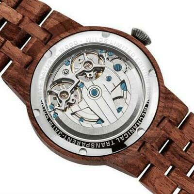 Dual Wheel Automatic Kosso Wood Watch - 2019 Most Popular