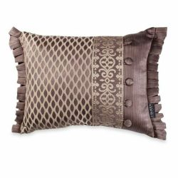 J.QUEEN New York Luxembourg -Set of 3 Pillows - 2 square & 1 Boudoir in Mink