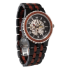 Buy Best Premium Self-Winding Transparent Body Ebony Rosewood Watches
