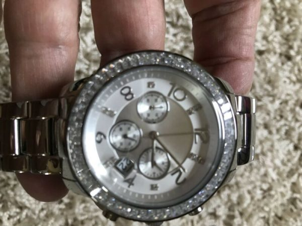 Buy Best Silpada Finishing Touch Watch T2956 Stainless Steel Cubic Zirconia