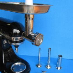 The ORIGINAL Stainless Steel meat grinder for Kitchenaid mixer + sausage maker