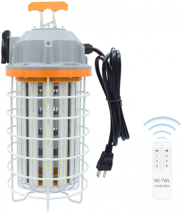Buy Best 150W LED Temporary Work Light with Remote Control Indoor Outdoor Lamp High Lumen