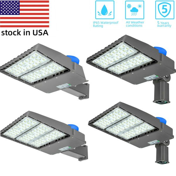 200W 300W LED Parking Lot Lights Module Street Pole fixture Shoebox Area Lights