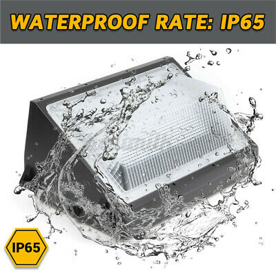 Buy Best 2X 120W LED Wall Pack Commercial Industrial Light Lamp Outdoor Security Fixture